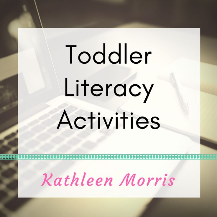 Activities to begin learning about letters, sounds and literacy