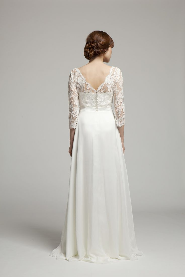 Ava Dress ~ Back view ~ Melanie Potro Bridal Couture 2014 Collection