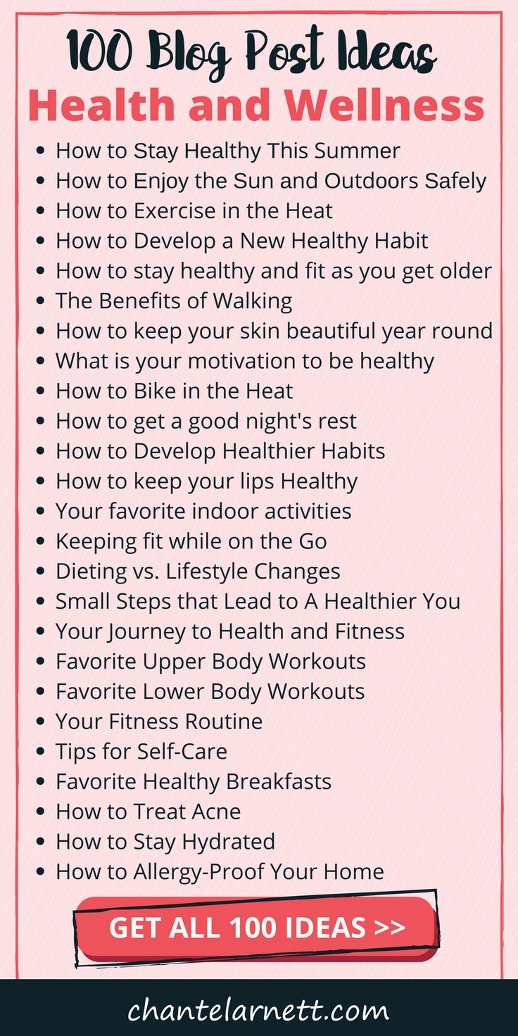 100 Popular Health Blog Ideas To Drive Traffic To Your Blog Health Blog Ideas Wellness Blog Health Blog