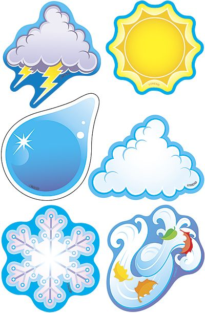 Weather Symbols Mini - T-10817 - TeacherStorehouse.com - Teacher ... - ClipArt…