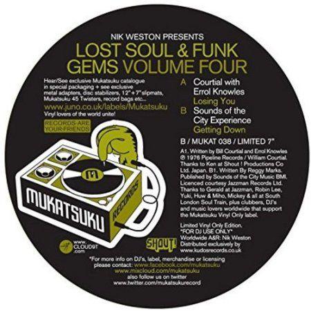 Lost Soul & Funk Gems Volume Four (Vinyl) (7-Inch)