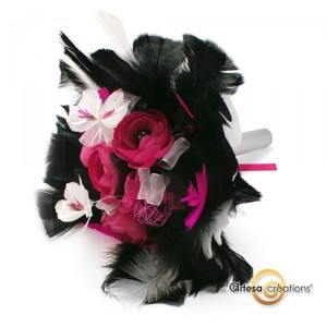 1000 images about mariage rose fushia pink wedding on - Chambre rose et noir baroque ...