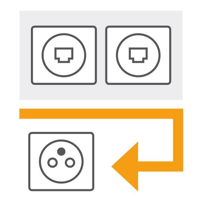 installer le r seau multim dia avec la norme nf c 15 100 normes lectriques multimedia. Black Bedroom Furniture Sets. Home Design Ideas