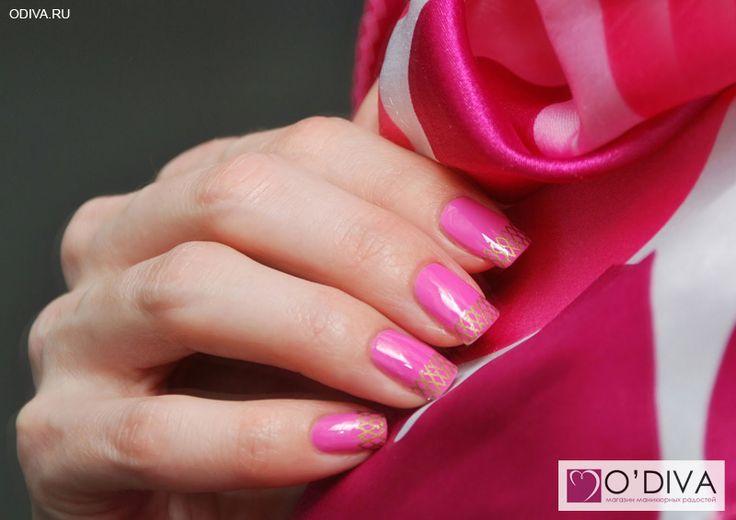 "Milv, лак для ногтей (#53) http://odiva.ru/~gZJFD Milv, слайдер-дизайн ""Сетки S78"" http://odiva.ru/~UD1Q3  #milv #милв #водныенаклейки #наклейкидляногтей #слайдердизайн #наклейкинаногти #дизайнногтей #ногти #идеиманикюра #маникюр"