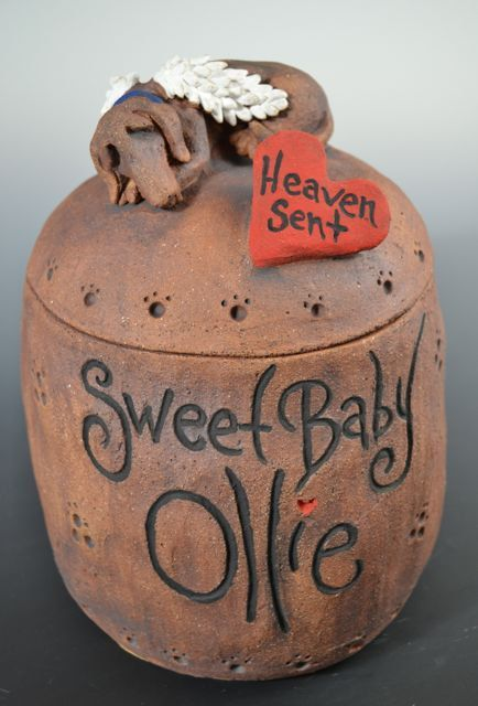 Custom Dog Urns or Pet Urns made to order by MonsterHollowStudios, $98.00