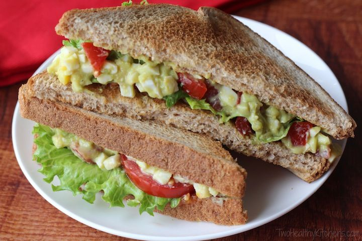 ... Avocado and Greek Yogurt)   Recipe   Avocado egg salad, The o'jays and
