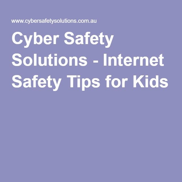 Advice and tips for staying safe online