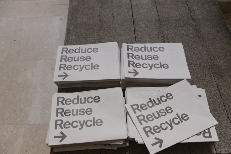 Padiglione Germania | Reduce Reuse Recycle  #biennalearch