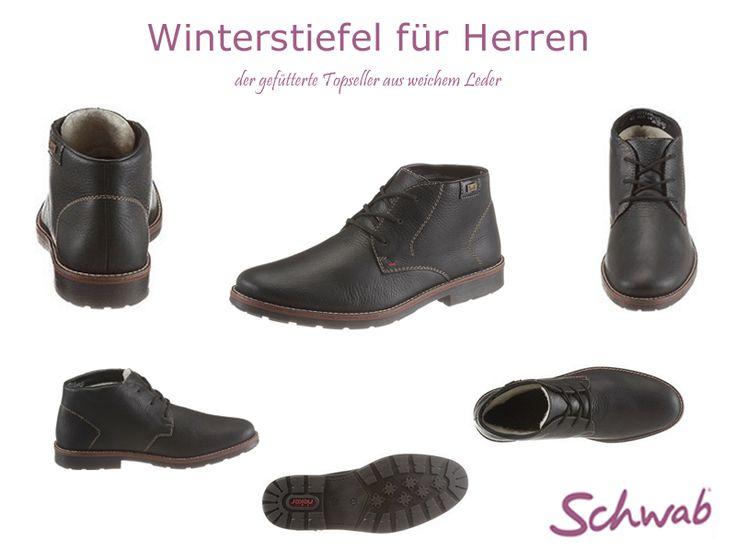 Warme #Winterstiefel für #Herren. Genießt die letzten Wochen des Winters!