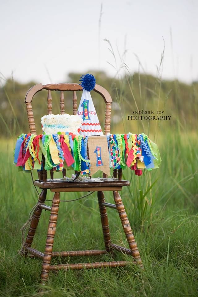 Very Hungry Caterpillar High Chair Decorations - #projectnursery