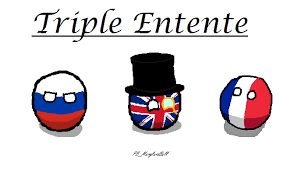 Triple Entente included France, Britain and Russia