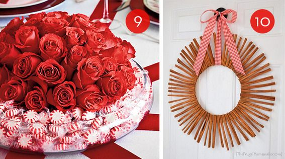 10 Easy Christmas Decorations Using Goods From The Grocery Store