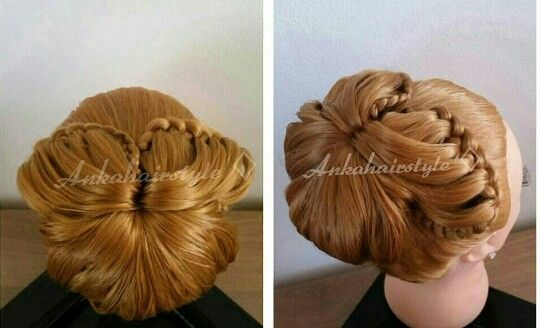 Hairstyle' wedding' gala