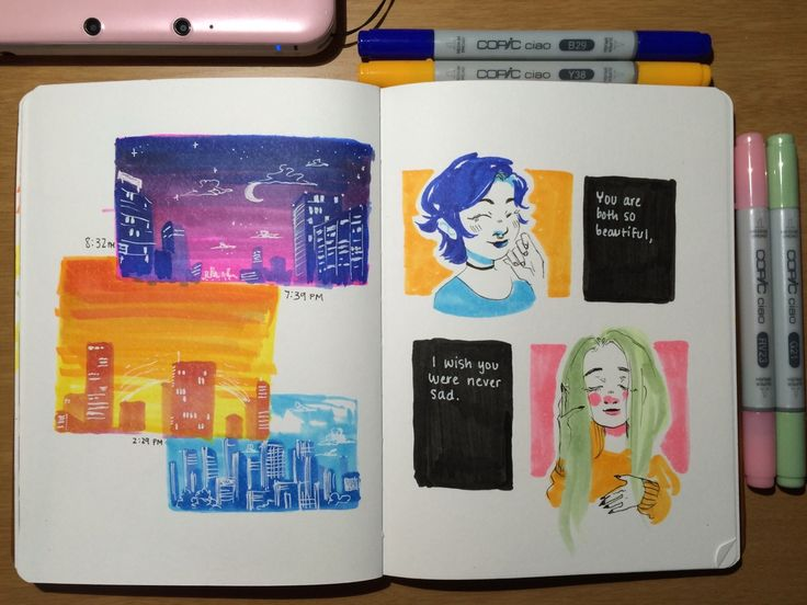 Pages 29, 30 featuring millkplease and saladbag on the right.