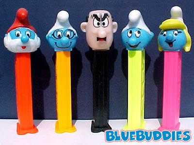 pez - but not smurf...