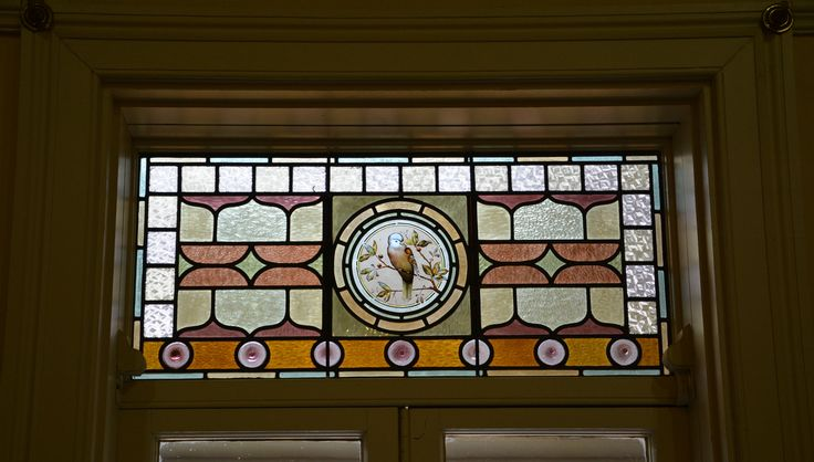 Stained glass window, Buda Villa, Castlemaine, Victoria
