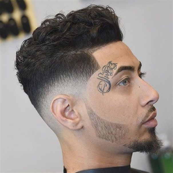 Thick Curly Hair On Top Low Bald Fade Shape Up Shortcurlyhair Wavy Hair Men Curly Hair Styles Short Wavy Hair