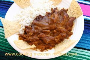 Authentic Chicken Mole Recipe  Our chicken mole recipe is easy to make and the results are delicious. Mole sauce, pronounced Mow-lay, is a rich multidimensional sauce with a hint of sweetness and chocolate to round out the spicy elements.