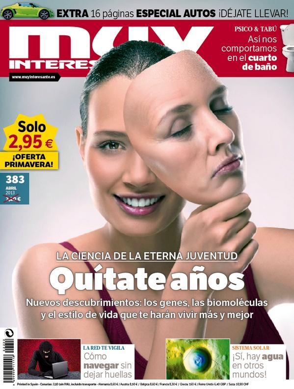 """Portada de """"Muy Interesante"""" Abril 2013.: April, 2013, Interes Del, Interes No, April 2013, Revista Abril, Inter No, Interesting"""