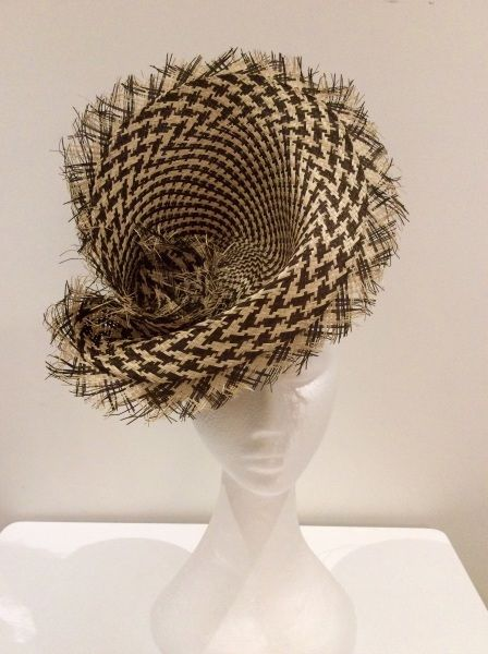 BY ANGELICA NAVE  #millinery #hats #HatAcademy