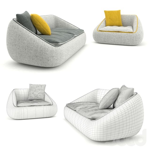 Диван (Bamboo Sofa, Bamboo Chair) Design by Alf DaFre.