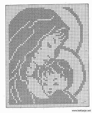 Crochet y punto cruz