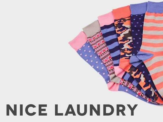Nice Laundry: A Fresh Start for Your Sock Drawer by Ricky Choi & Phil Moldavski, via Kickstarter.  THIS WAS CREATED FOR ME!