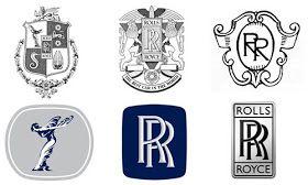 Rolls Royce Logo Evolution