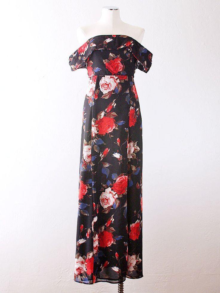 A Rose Is A Rose Maxi Dress
