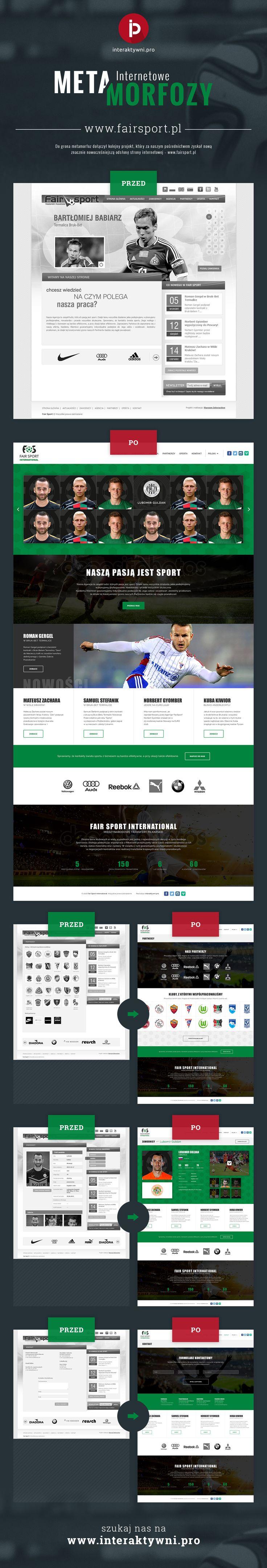 Oto jak przemieniamy internety ze starej w nowątechologię RWD. Dla agencji sportowej Fairsport (www.fairsport.pl) stworzyliśmy nową, responsywną stronę internetową. ----- /// ----- Here's how we change the internet into more mobile-friendly. One of our client's new website www.fairsport.pl and his responsive website. #webdesign #digitaldesign @#rwd #digitalart #digitalagency #interaktywni
