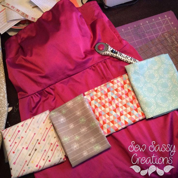 Tuesday Tutorial- DIY bridesmaid dress quilt