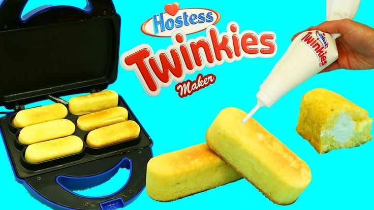 TWINKIES MAKER Hostess Cream Filled Cakes DIY Desserts Make Your Own Twi...