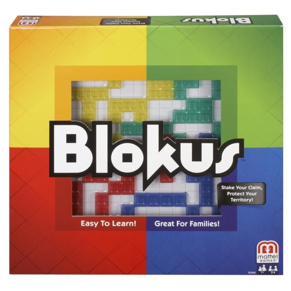 A Mensa award winner and 20+ other awards, Blokus classic promotes healthy brain activity and challenges spatial thinking. Improve your creative thinking with t