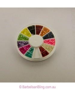 $7.50 Pearl Stone Wheel - Dots