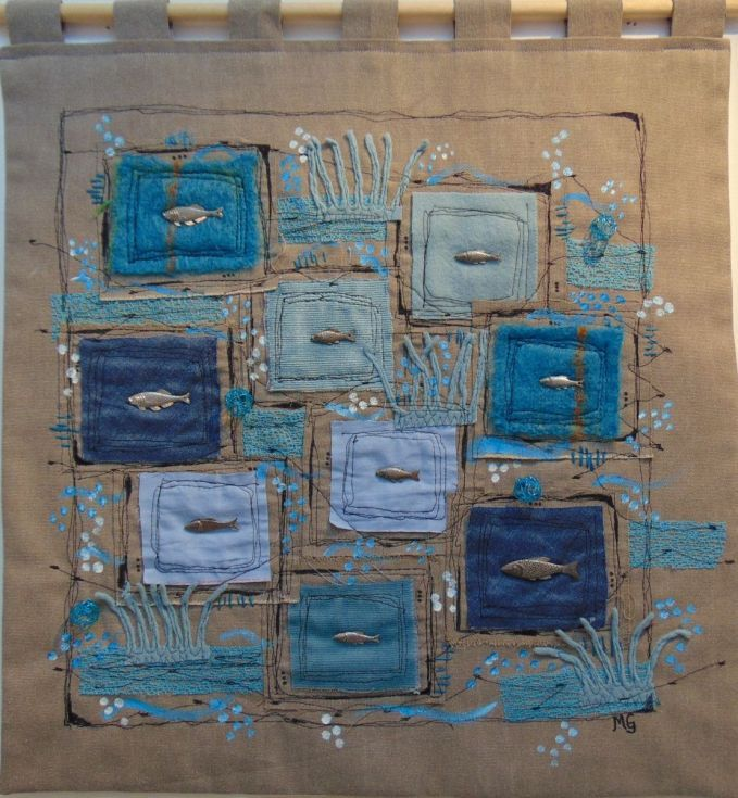 Buy The Shoal, Collage by Monica Green on Artfinder. Discover thousands of other original paintings, prints, sculptures and photography from independent artists.