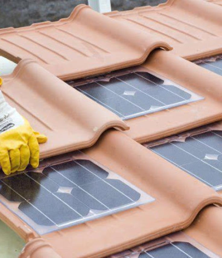 Solar Roof Tiles - I would love to have a solar powered house - one day in the future when I have the money, oh and a house.