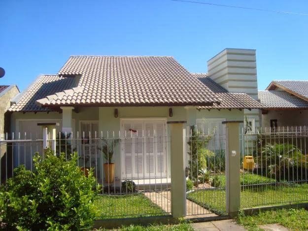 Fachadas de casas simples bonitas e pequenas lojas e for Fachadas de viviendas pequenas