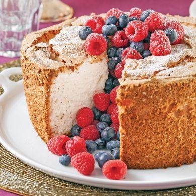 Gâteau des anges sans gluten - Recettes - Cuisine et nutrition - Pratico Pratique
