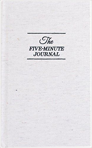 The Five Minute Journal: A Happier You in 5 Minutes a Day: Intelligent Change: 9780991846207: Amazon.com: Books