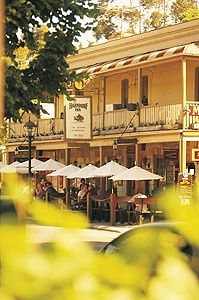 Hahndorf in Adelaide Hills, Australia's oldest surviving German settlement.