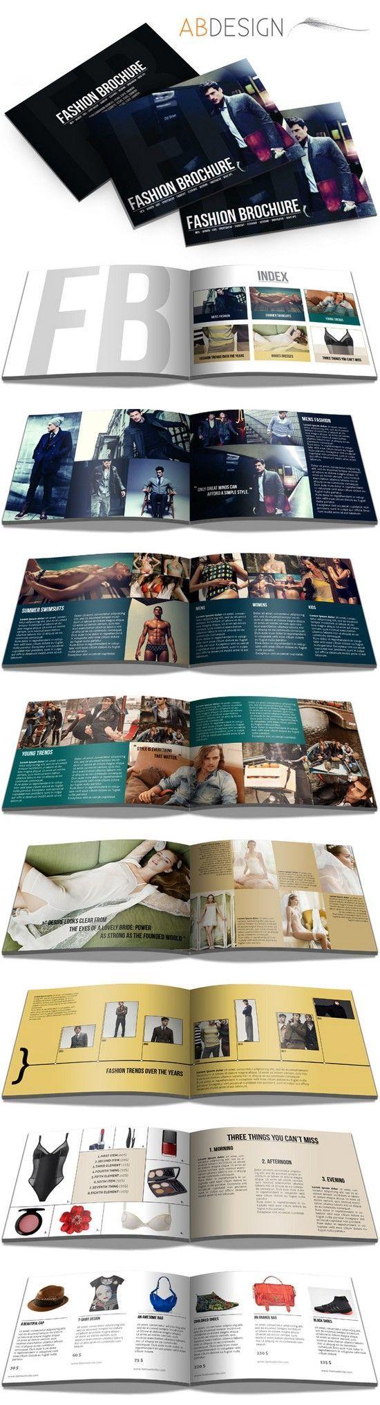 Print • Broschüre Template