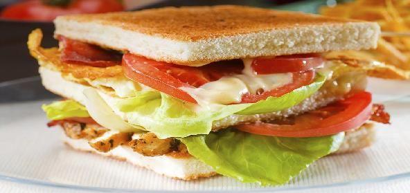Onion Potato Sandwich