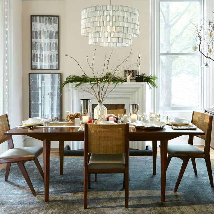 West Elm - Upton Extendable Dining Table