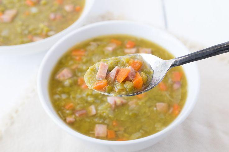 Ham & split pea soup recipe