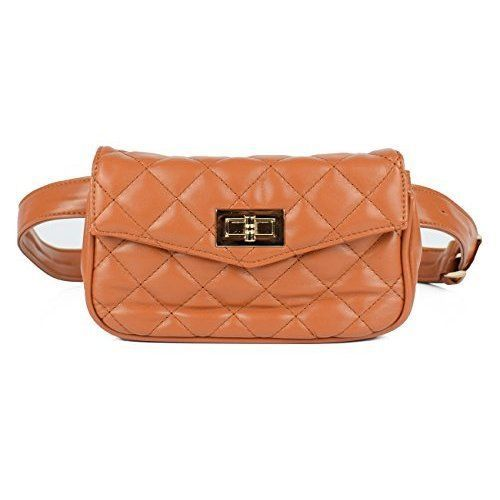 Elegant Leather Waist Pouch Bag Pack Fashion Travel Cell Phone Womens Best Style #WaistPouchBagPack