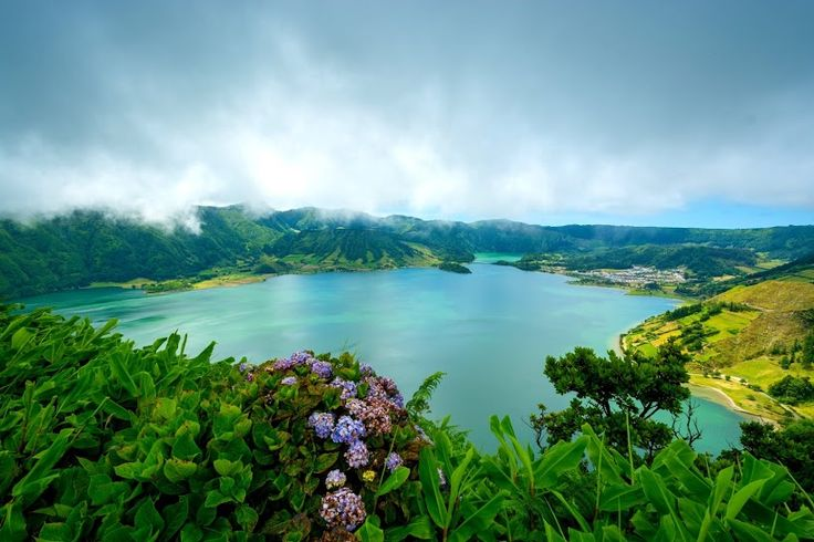 Lagoa das Sete Cidades - Sete Cidades, ilha de São Miguel, Açores (Portugal).