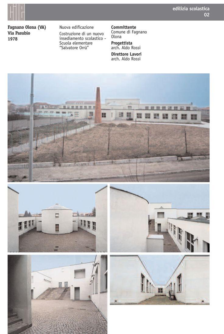 Aldo Rossi - Scuola Elementare Fagnano Olona - Cerca con Google