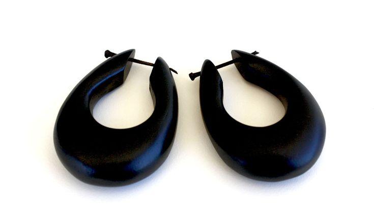 Selaru Wooden Stick Earrings from www.kurakura.co.za