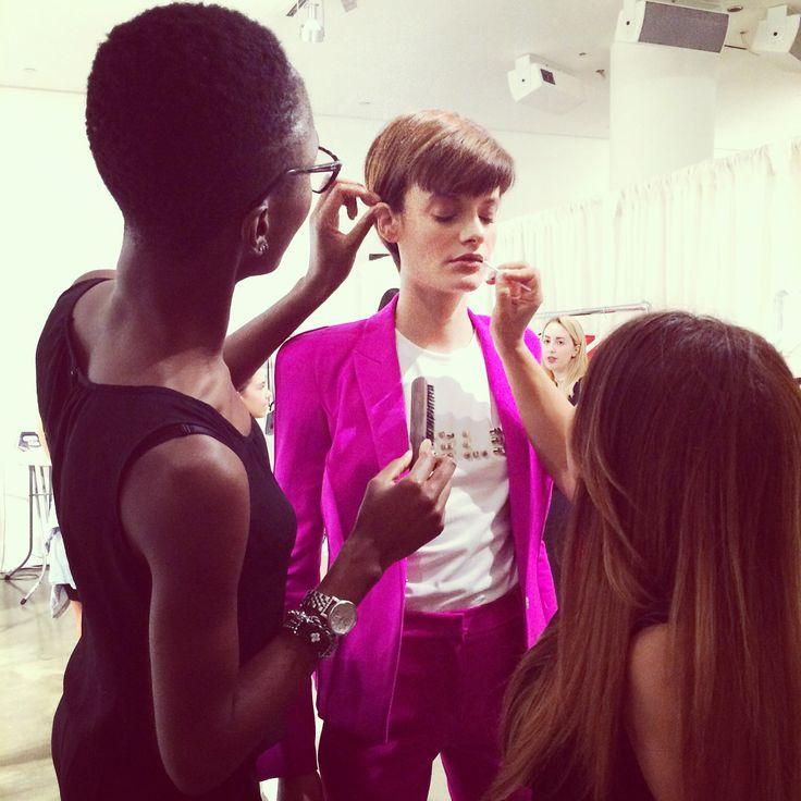 #bts #mugler #fashion #model #hairbycandace #nyc