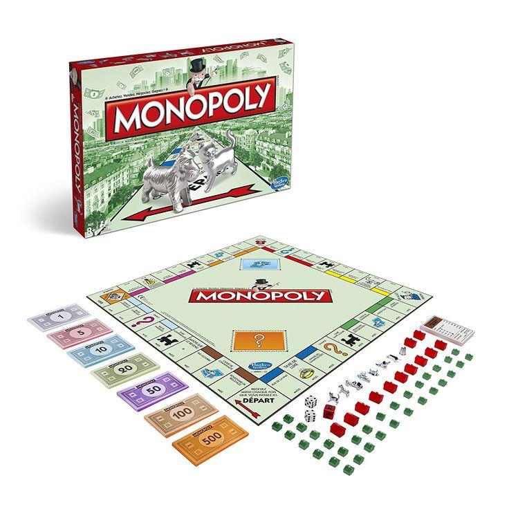 Hasbro - 94470 - Jeu de Plateau - Monopoly Classique: Amazon.fr: Jeux et Jouets